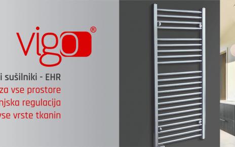 Električni stenski sušilnik - VIGO EHR