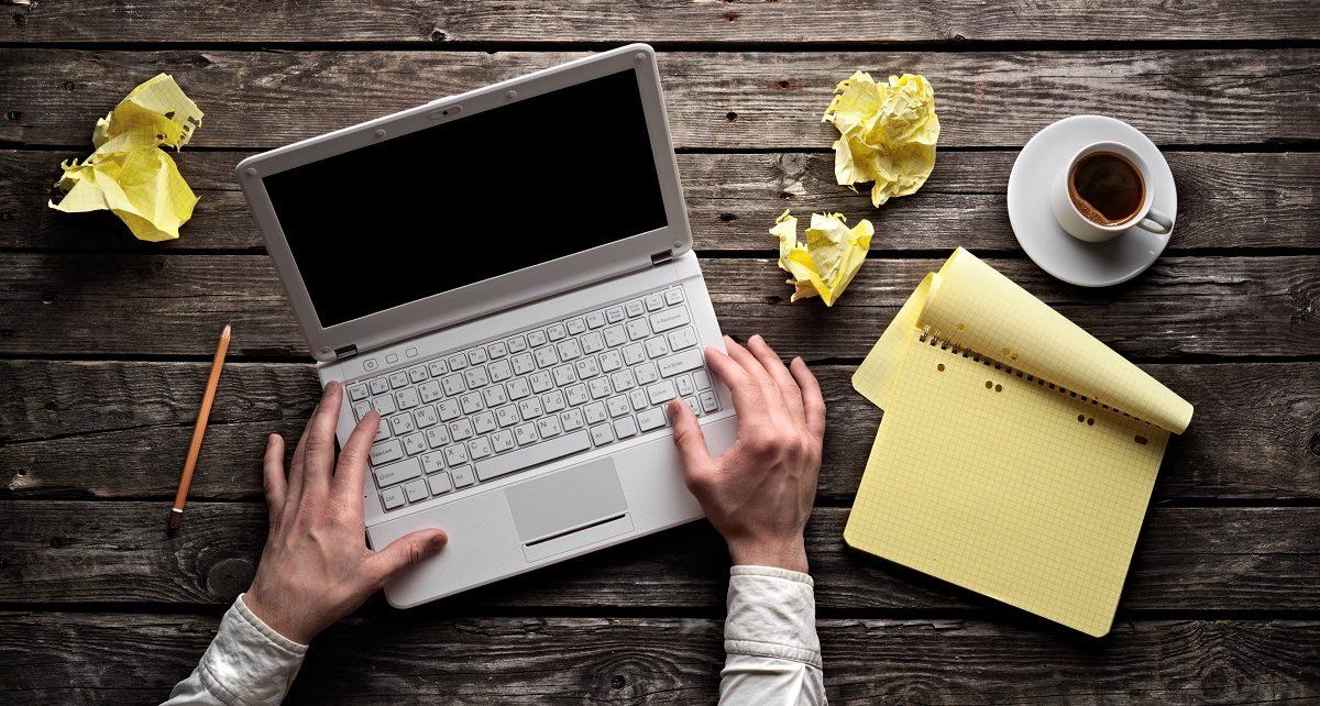 pisanje besedil za splet