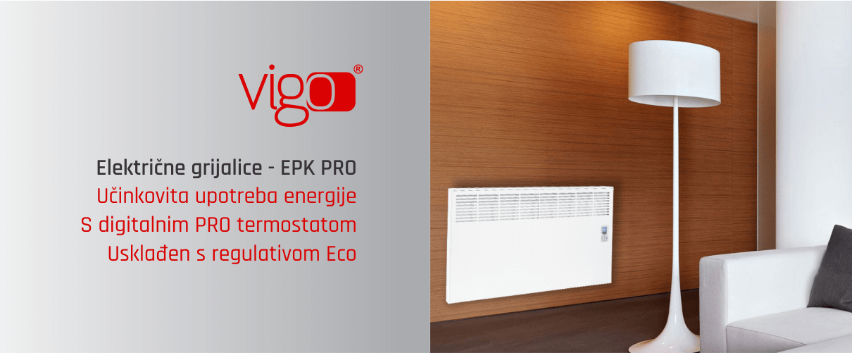 električni radijator Vigo EPK