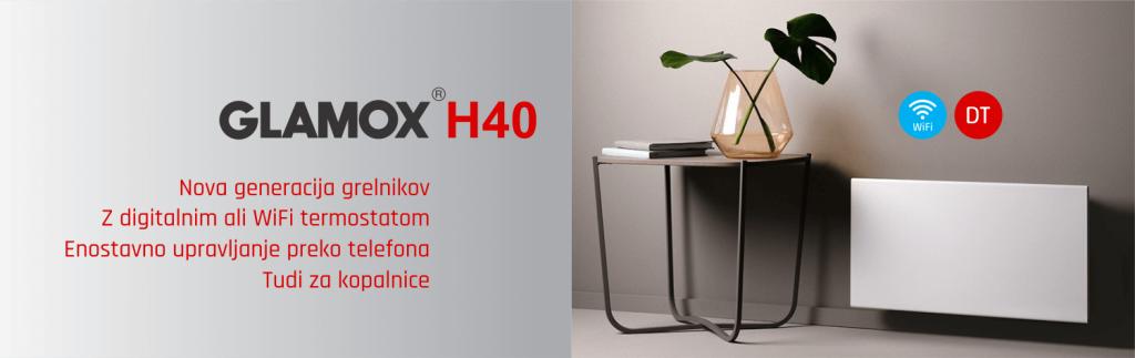Električni radiator - GLAMOX H40