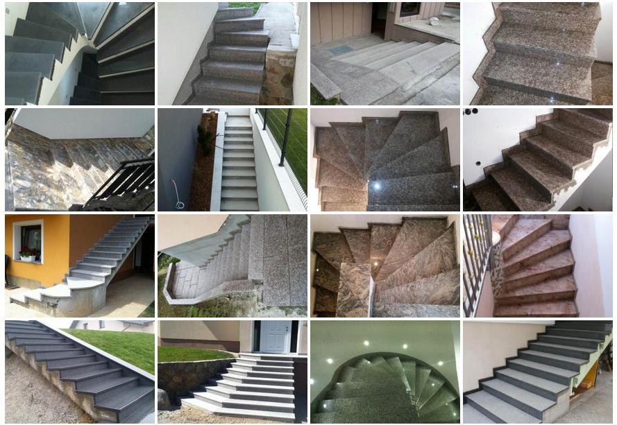Kamnite  stopnice - KM